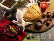 Постна содена питка за Бъдни вечер или Коледа